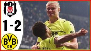 Besiktas vs Borussia Dortmund 1 − 2 (Champions League 2021 Goals & Highlights)