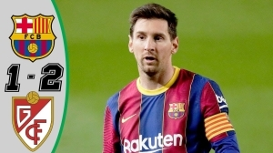 Barcelona vs Granada  1 - 2 (LaLiga Goals & Highlights 2021)