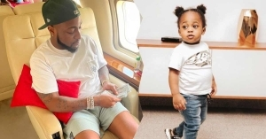 Davido Allegedly Gifts Son, Ifeanyi New Range Rover SUV Days After Buying Same For Daughter