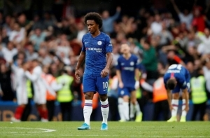 Frank Lampard Gives Update On Willian's Future At Chelsea After FA Cup Final