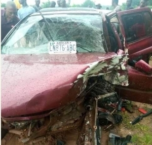 Police Officer Dies After Collision With A Car In Kogi (Graphic Photos)