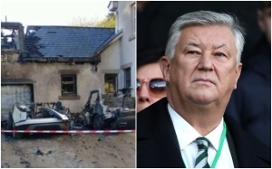 Celtic release statement as images appear to show explosion at club chief's home