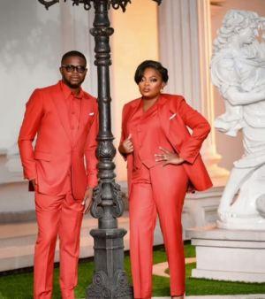 Funke Akindele-Bello And JJC Skillz Celebrate 5th Wedding Anniversary