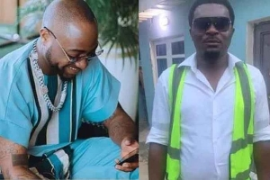 Good Samaritan Surprises An Airport Official With N200k After He Lost His Job Because Of Davido