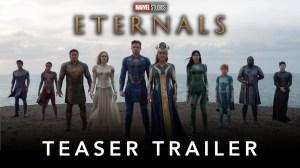 Marvel Studios' Eternals 2021 - Official Teaser