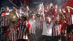Brentford promoted to Premier League after Championship play-off triumph over Swansea