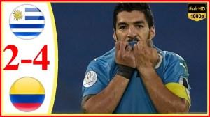 Uruguay vs Colombia 0 − 0 (2-4 Pen) (Copa America 2020 Goals & Highlights)