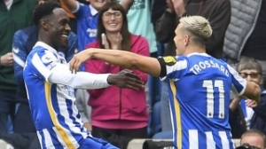 Brighton go third with victory over Leicester