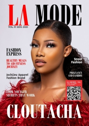 See Tacha's Reaction To Her First Appearance On Magazine Cover