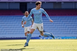 Manchester City Defender John Stones Has Signed A New Five-Year Contract To Stay At The Etihad Stadium