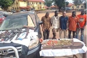 Police Intercept 753 Machine Gun Ammunitions Heading To Abia State (Photos)