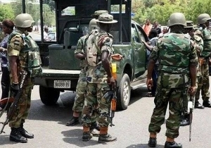 JUST IN!!! Soldiers Stop 73 Nasarawa Youths Going To Imo