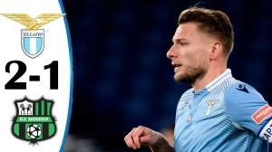 Lazio vs Sassuolo 2 - 1 (Serie A  Goals & Highlights 2021)
