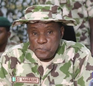 IT's A BIG LIE!!! Ministry Of Defence Denies Video Of Its Minister, Magashi Hanging An Ak-47 Rifle