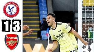 Crystal Palace vs Arsenal 1 - 3  (Premier League Goals & Highlights 2021)