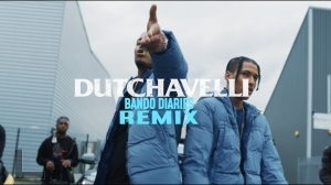 Dutchavelli Feat. Divine, onefour, Noizy & Kekra - Bando Diaries (Remix) (Video)