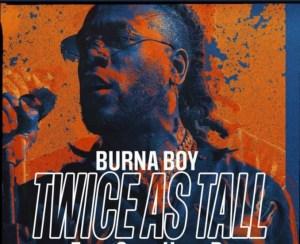 "Top 5 Songs on Burna Boy ""Twice as Tall"" album"