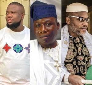 Hushpuppi, Sunday Igboho or Nnamdi Kanu – You Can Only Release One Person, Who Would It Be?