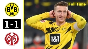 Borussia Dortmund vs Mainz 05  1 - 1 (Bundesliga Goals & Highlights 2021)