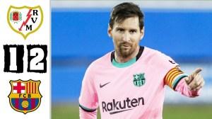 Rayo Vallecano vs Barcelona  1 - 2 (Copa Del Rey Goals & Highlights 2021)