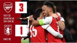 Arsenal vs Aston Villa 3 - 1 (Premier League 2021 Goals & Highlights)