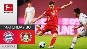 Bayern Munich vs Bayer Leverkusen 2 - 0 (Bundesliga Goals & Highlights 2021)