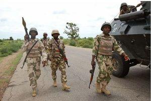 Nigerian Soldiers Storm Anambra Nursing School In Search Of Unknown Gunmen (Photos)