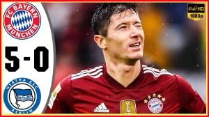 Bayern Munich vs Hertha Berlin 5 − 0 (Bundesliga 2021 Goals & Highlights)