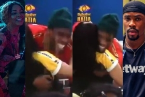 #BBNaija: Watch Neo And Nengi's Epic Reaction When They Both Realized They First Met In 2015 (Video)