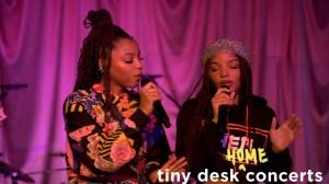 Chloe x Halle - Tiny Desk (Home) Concert (Video)