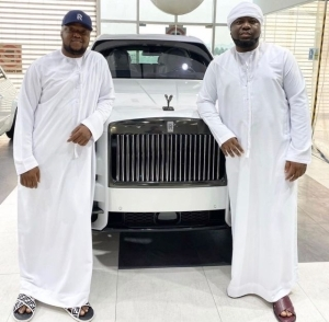 """""""I'll Stand By You Till Death"""" – Hushpuppi's Friend Celebrates Him On His 39th Birthday"""