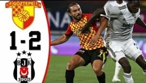 Göztepe S.K.	vs Besiktas 1 − 2 (Turkey Super Lig Goals & Highlights 2021)