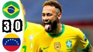 Brazil vs Venezuela 3 − 0 (Copa America 2020 Goals & Highlights)