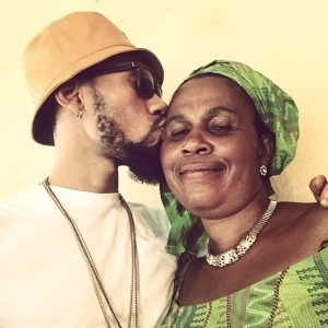 See Beautiful Photos of Phyno's Mother- The Woman Who Sold Roasted Corn By The Roadside To Support His Career