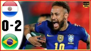 Paraguay vs Brazil 0 − 2 (World Cup Qualifier Goals & Highlights 2021)