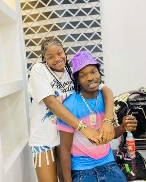 Naira Marley's Sister, Shubomi Caught Kissing Signee, Zinolesky (Video)