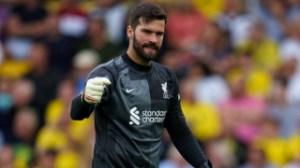 Alisson admits Liverpool won