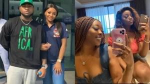 Chioma's Bestfriend, Naomi Shades Davido Amidst Breakup Rumours