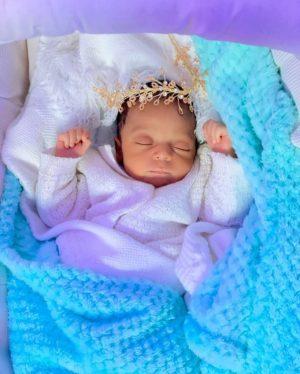 Regina Daniels shares adorable new photo of her son, Munir