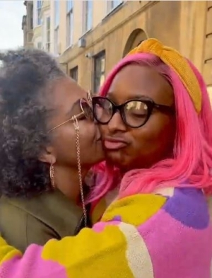 DJ Cuppy's Mum, Nana Otedola Pays Her A Suprise Visit At Oxford University