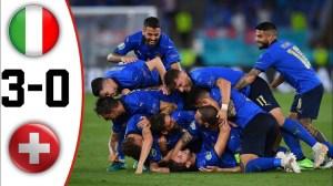 ItaIy vs SwitzerIand 3 - 0 (EURO 2020 Goals & Highlights)