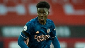 Arsenal youngster Saka blown away by reception after scoring for England