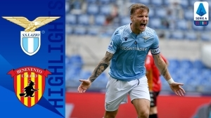 Lazio vs Benevento 5 - 3 (Serie A  Goals & Highlights 2021)