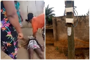 Young Girl Electrocuted To Death In Sowutuom, Accra (Video)