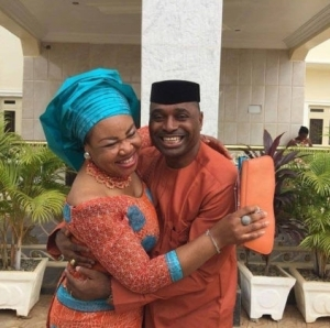 Actor, Kenneth Okonkwo Shows Off His Beautiful Wife, Celebrates Her Birthday In Style (Photo)