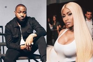 "Davido Reacts As His Collaboration, ""Holy Ground"" With Nicki Minaj Breaks Record"