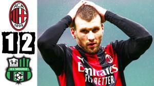 AC Milan vs Sassuolo  1 - 2 (Serie A Goals & Highlights 2021)
