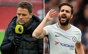 Cesc Fabregas hits back at Michael Owen on Twitter after England legend declares war on assists