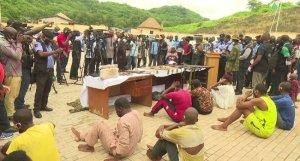 Police Nabs Female Arms Smuggling Criminals
