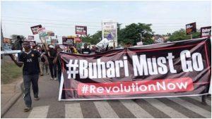BREAKING: #BuhariMustGo Protest Rocks Abuja